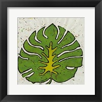 Framed Planta Green IV