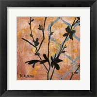 Framed Modern Tree in Black I