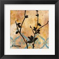 Framed Modern Tree in Black II
