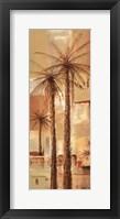 Framed Palm Panel II