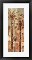 Framed Palm Panel III