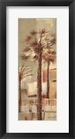 Framed Palm Panel IV