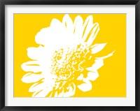 Framed Yellow Mum