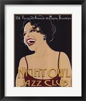 Nite Owl Framed Print