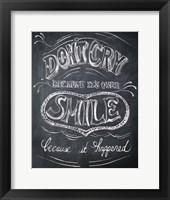 Framed Smile - Mini