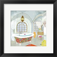 Framed Moroccan Bath II - Mini