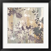 Framed Mist Foliage I