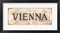 Vienna Framed Print