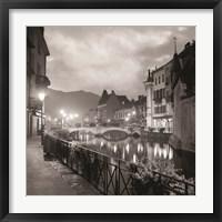 Framed Ponte di Notte (RZ009-A)