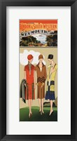 London & So. Western Framed Print