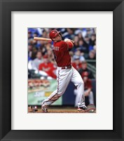 Framed Paul Goldschmidt 2013 Batting