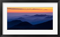 Framed Rocky Mountain Mist