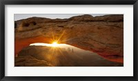 Framed Mesa Arch Beauty