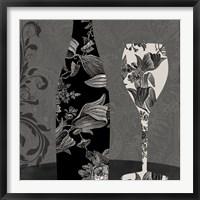 Vin Elegant II Framed Print