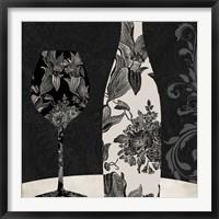 Vin Elegant I Framed Print