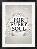 Framed Every Soul