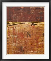 Framed Lithosphere XXIX Canvas 1