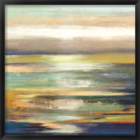 Framed Evening Tide - Oversize