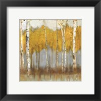 Framed Golden Grove II- Mini