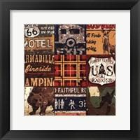 Framed American Adventure