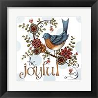 Framed Be Joyful