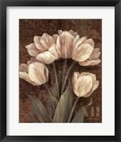 Framed Petit Jardin Tulips