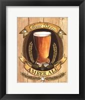 Home Brew Framed Print