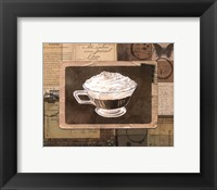 Framed Vintage Eiskaffee - mini