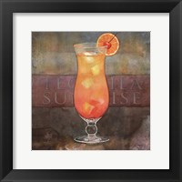 Framed Tequila Sunrise