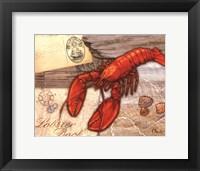 Framed Fresh Catch Lobster