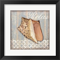 Spa Shells II - mini Framed Print