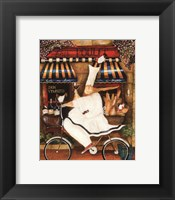 Chef in Paris - mini Framed Print