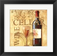 Wine Cellar Square Framed Print