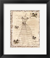 Framed Wire Dress II - mini