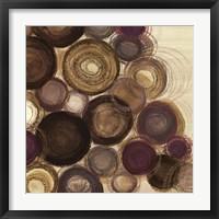 Framed Purple Whimsy Sq. II