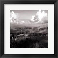 Framed Dunes II Sq. BW