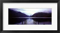 Framed Serene Dock II