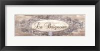La Baignoire Sign - mini Framed Print