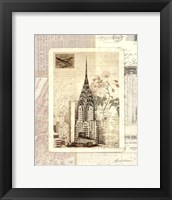 Framed NY Sketchbook
