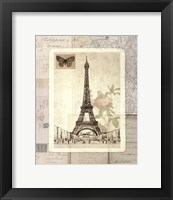 Framed Paris Sketchbook