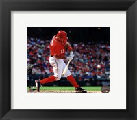 Framed Ryan Zimmerman 2013 baseball