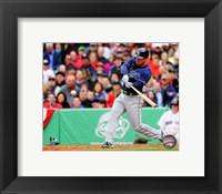Framed Ben Zobrist Batting 2013