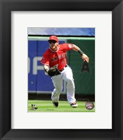 Framed Josh Hamilton 2013 Action