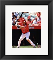Framed Albert Pujols 2013 Action