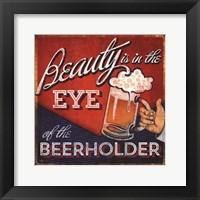 Beerholder Framed Print