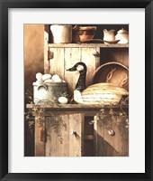 Framed Pantry Goose