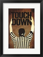 Framed Touchdown