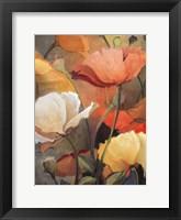 Framed Spring Blooms I