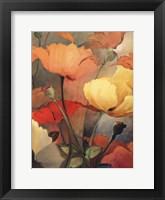 Framed Spring Blooms II