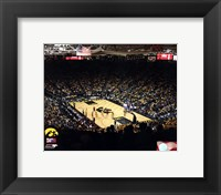 Framed Carver-Hawkeye Arena University of Iowa Hawkeyes 2012